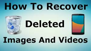 How to recover deleted photos and videos