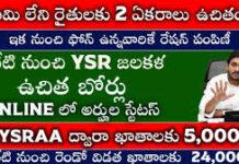 ఈ ఖాతాలకు 5,000 | YSR Jala kala Status | Free Land AP | YSR Cheyutha Status | @Viralvasu
